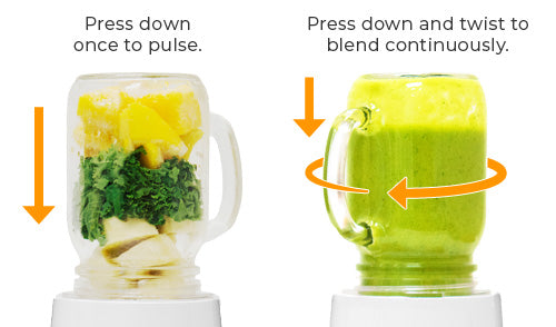 Two Modes of Operation - Personal Blender II