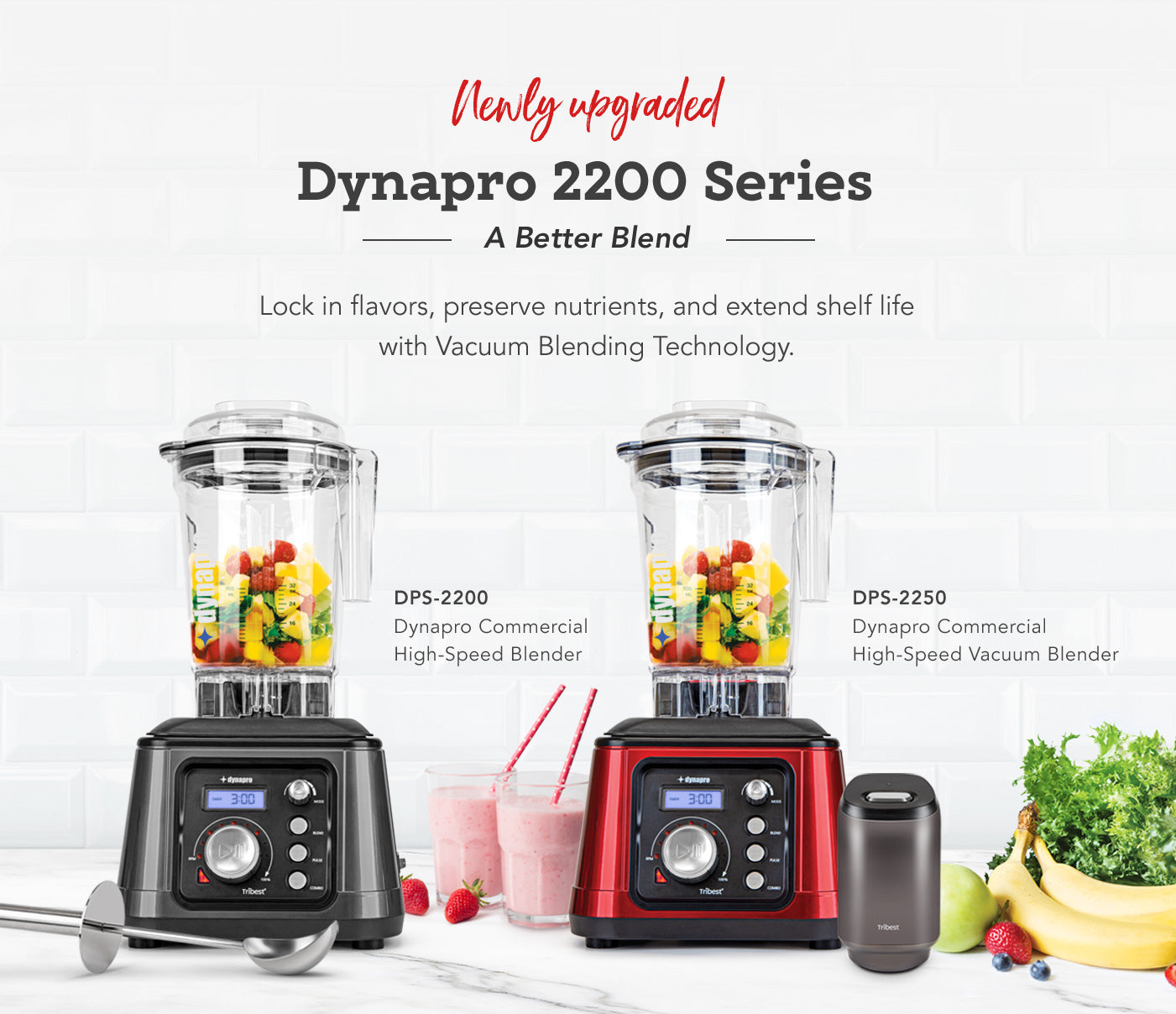 Newly Upgraded Tribest Dynapro 2200 Series - A Better Blend