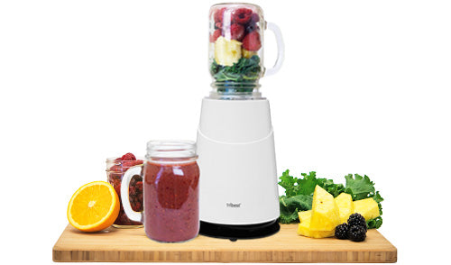 Works with Standard-Mouth Mason Jars - Personal Blender II