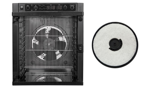 Powerful Central Fan with Reusable Air Filter - Sedona® Express Food Dehydrator