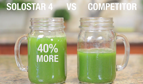 Produces Up to 40% More Juice Solostar 4