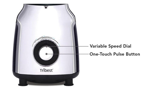 Variable Speed Dial  - Glass Personal Blender