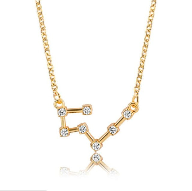 Gold/Silver Star Alignment Necklace