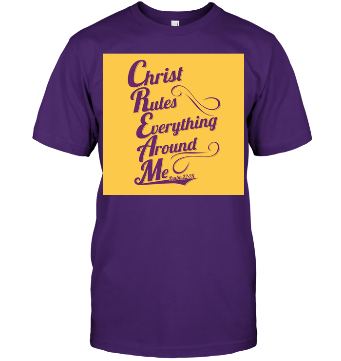 C.R.E.A.M  Christ Rules Everything Around Me T-Shirt