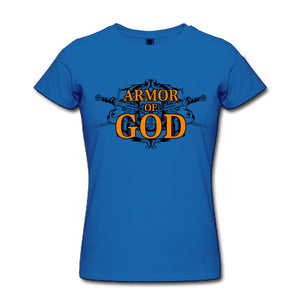 Armor of God Christian T shirts Women