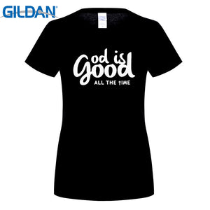 Women's God Is Good All the Time Short Sleeve T Shirt