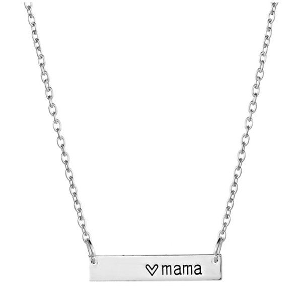 2018 Fashion New Arrival Mother's Day Gift  Necklace Heart Pendant Necklace