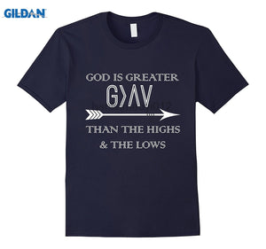 GILDAN God is Greater Than the Highs and Lows T-Shirt