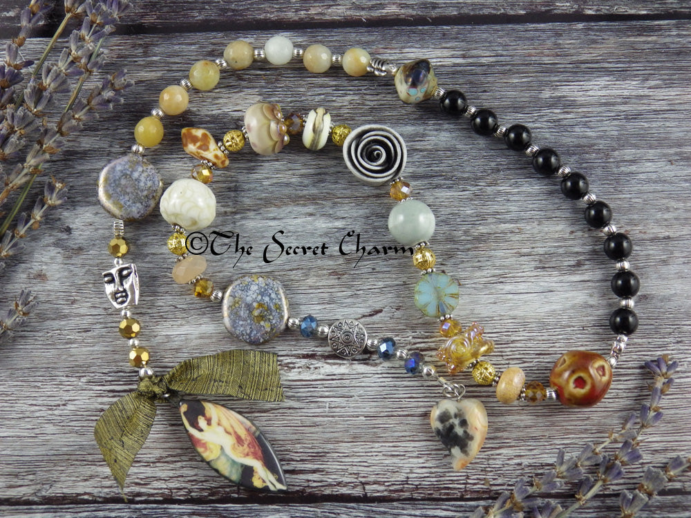 Goddess Aphrodite Pagan Prayer Beads