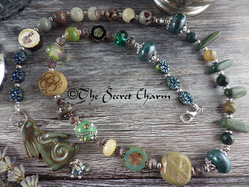 Hare Pagan Prayer Beads Necklace