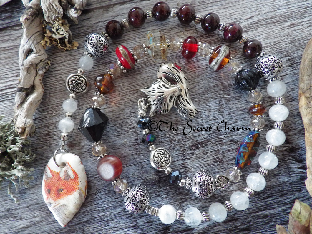 Totem Fox Prayer Beads