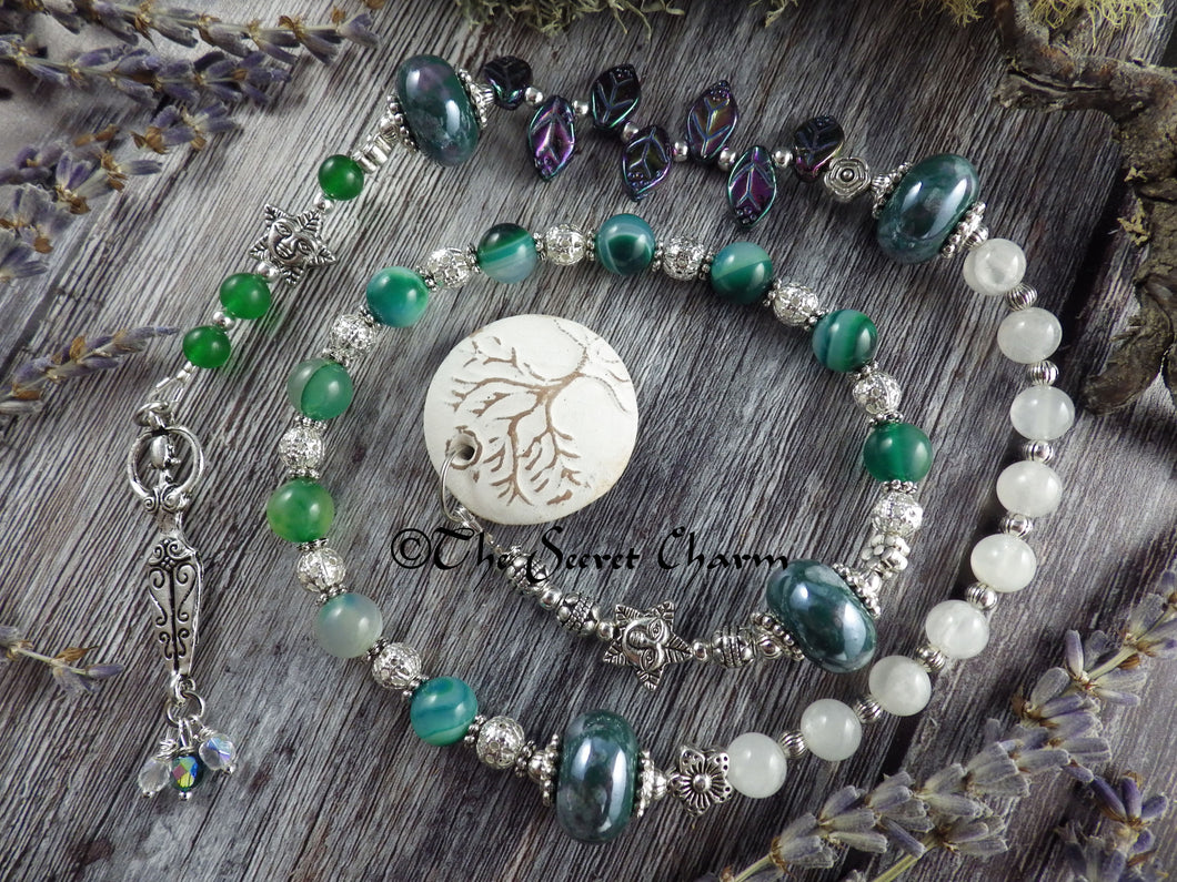 Daughter Of The Forest Pagan Prayer Beads