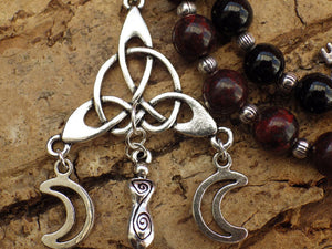 Hekate Pagan Prayer Beads