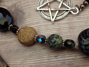 Celtic Destroyer Goddess Cailleach Pagan Rosary