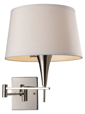 One Light Polished Chrome Wall Light - Style: 7264372