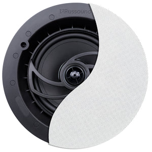 "Russound RSF-610 6.5"" 2-Way Ceiling Speaker with Designer Edgeless Bezel Grille"