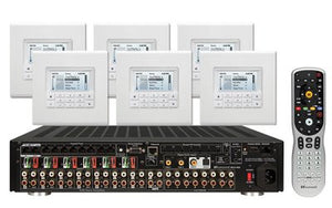Russound KT2-88X Controller Amplifier System Kit with MDK-C6
