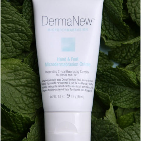 DermaNew Hand & Foot Microdermabrasion Cream-Scrub