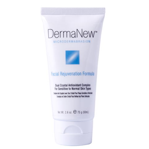 DermaNew Facial Rejuvenation Microdermabrasion Cream-Scrub