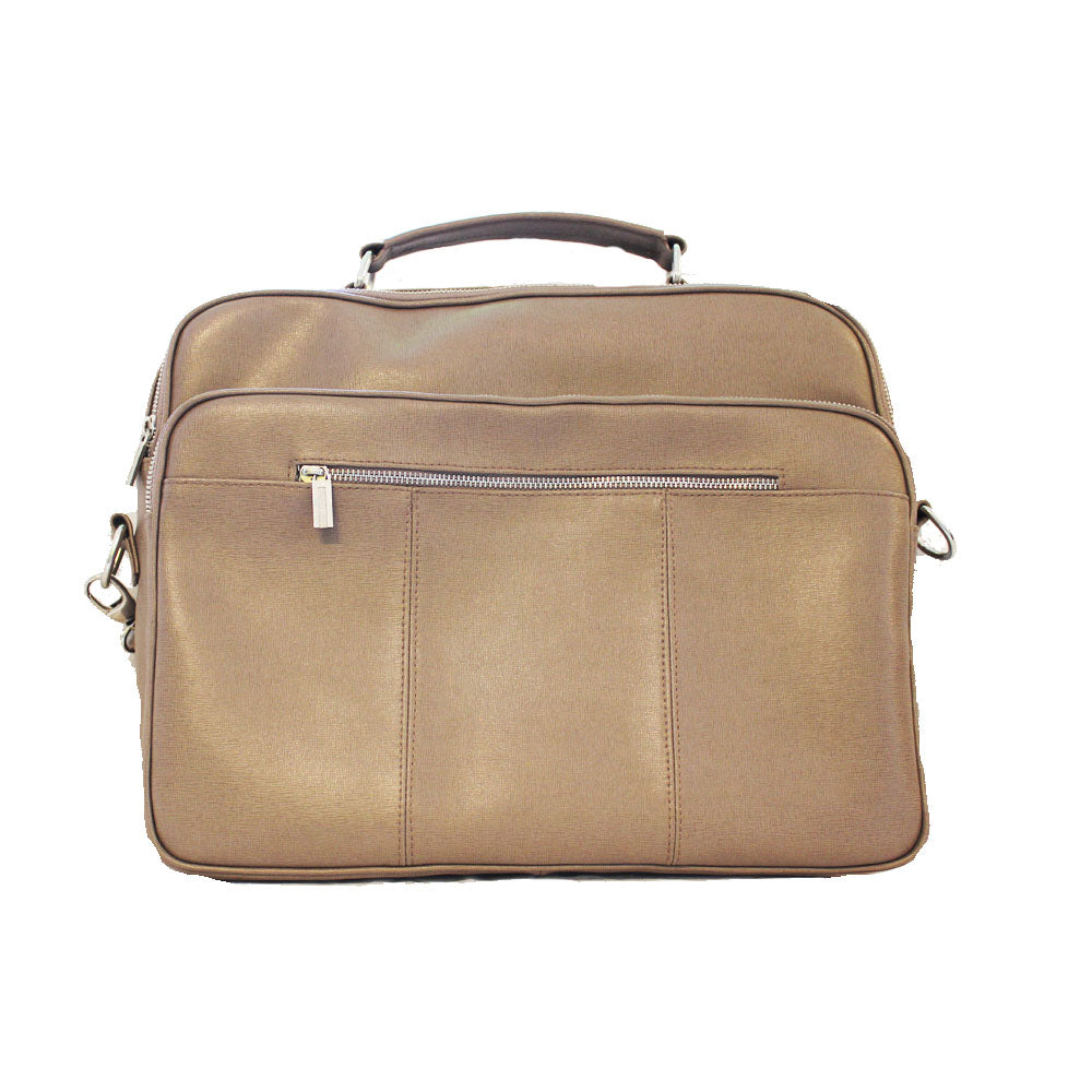 Unixex genuine leather bag for laptop