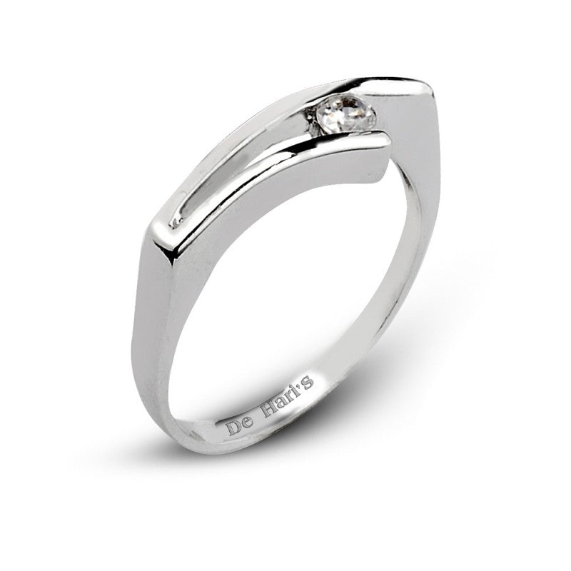 Sophisticated Sterling Silver Ring