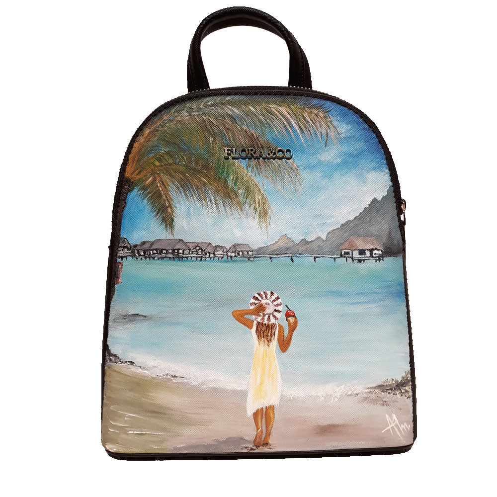 Customized Artisanal Painted bag - Size Small, Medium or Big