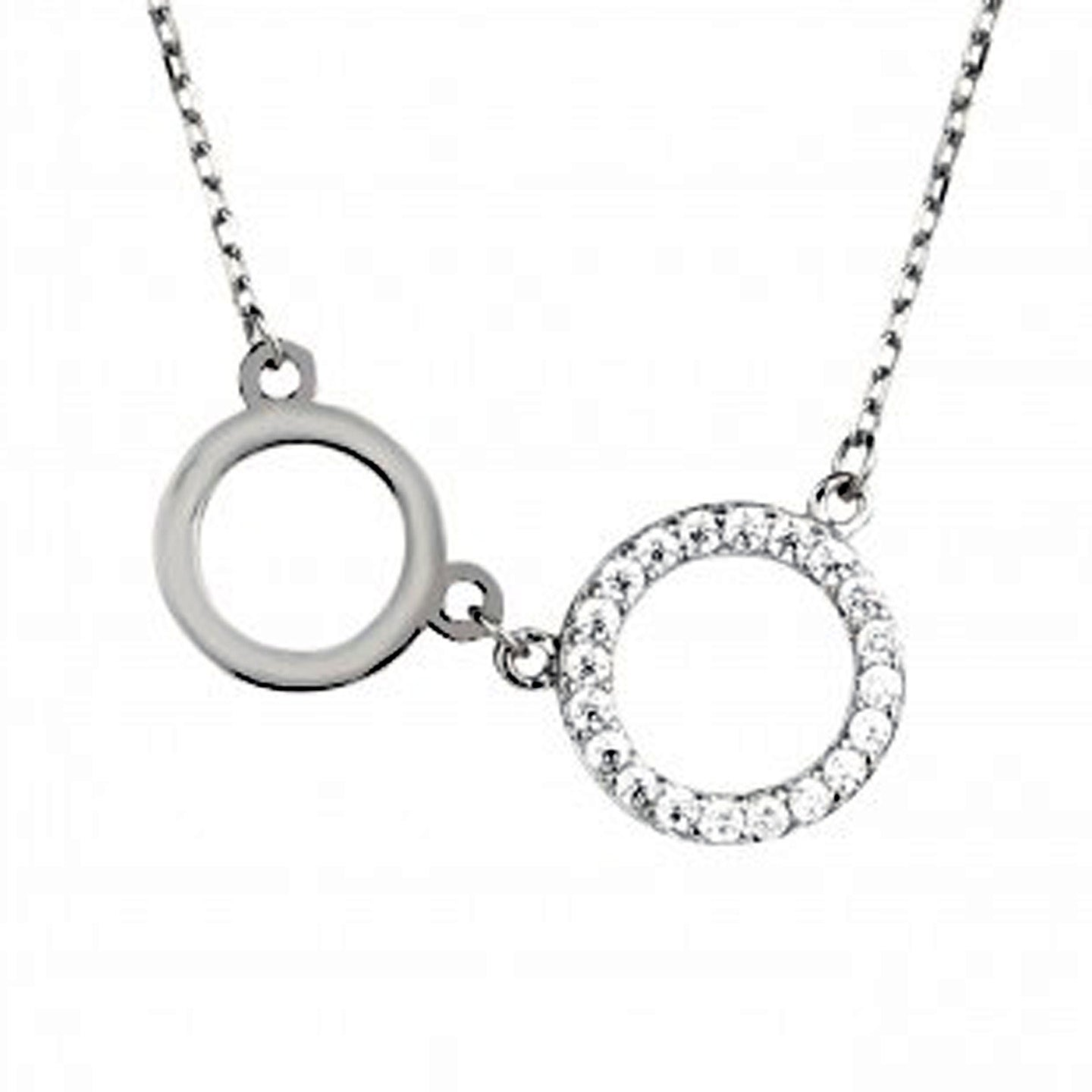 shop eternity necklace sveaas silver large triple tilly jewellery ring