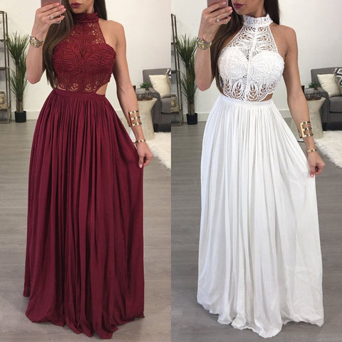 Ladies Boho Casual Long  Dress