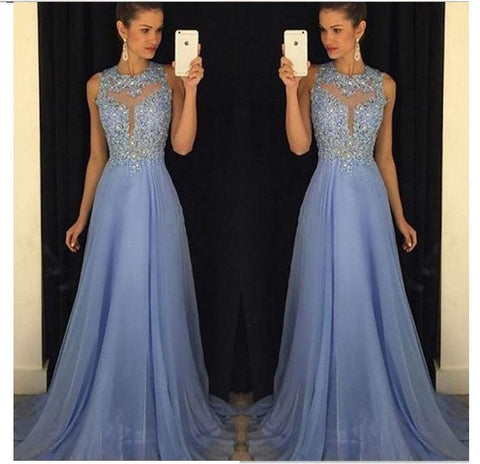 2018 Long Formal Beautiful Dress