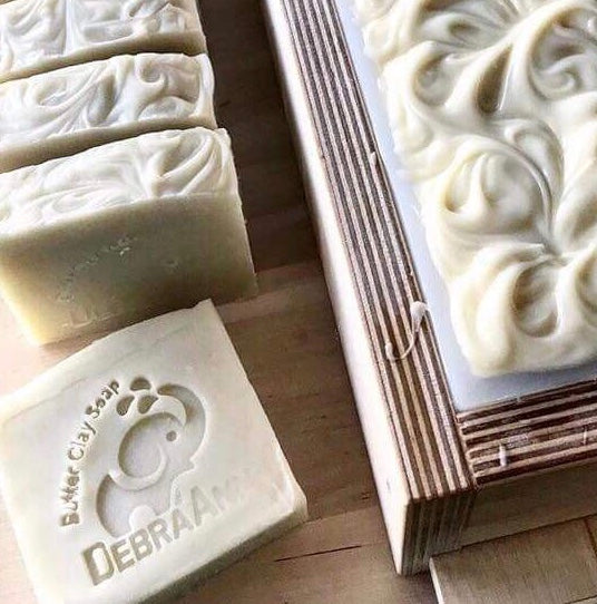 Butter Clay Soap; Bare Naked