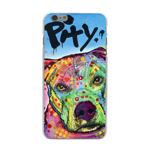 "Pitbull ""Pity"" Iphone Case (Multi)"