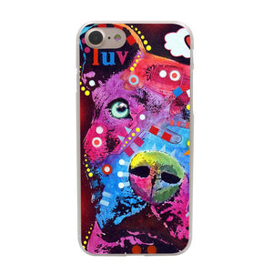"Pitbull ""Luv"" Iphone Case (Multi)"