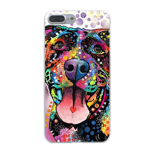"""Pitbull Love"" Iphone Case (Multi)"