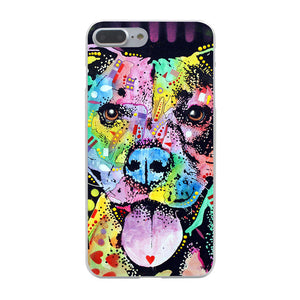 """Pitbull Smile"" Iphone Case (Multi)"