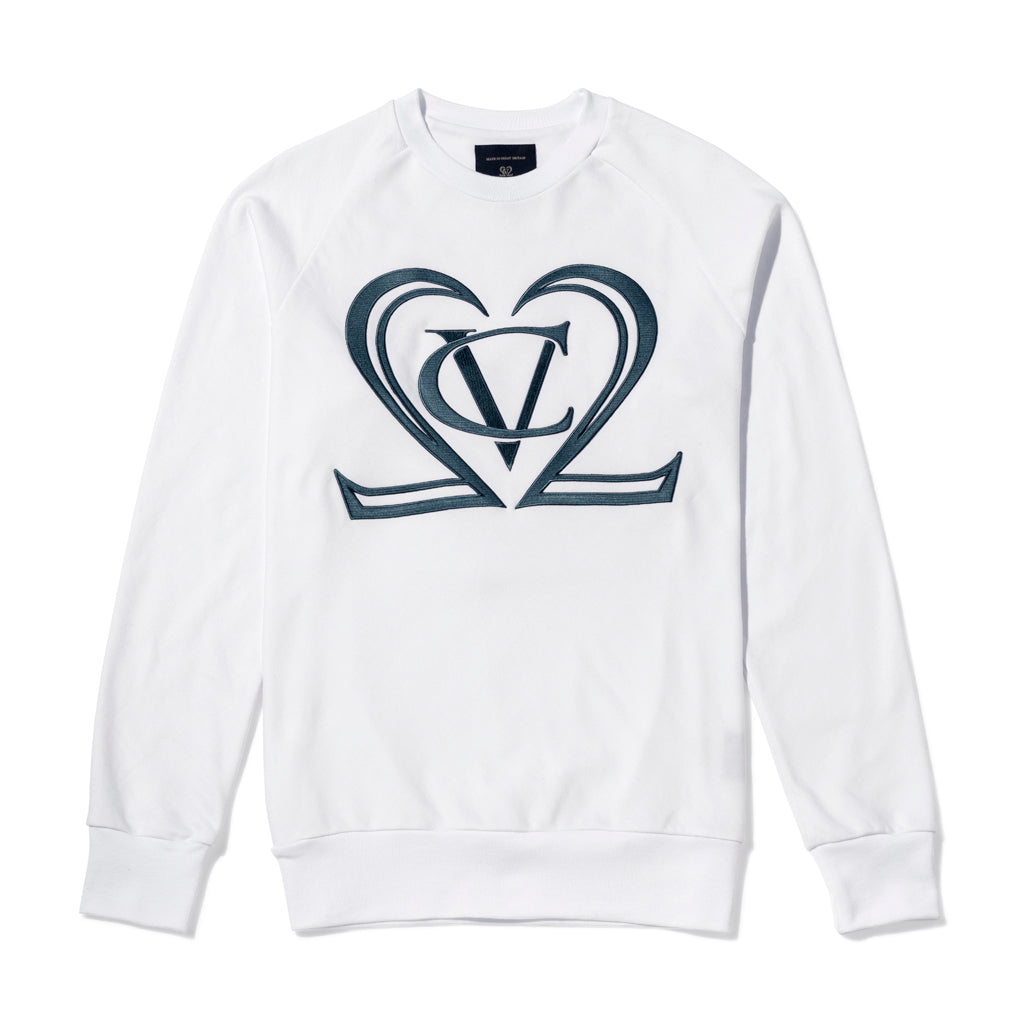 Squad A Fine Supima Loopback Cotton Sweatshirt