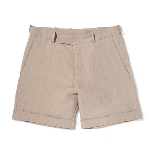 Bretford Fine Irish Linen Tailored Shorts