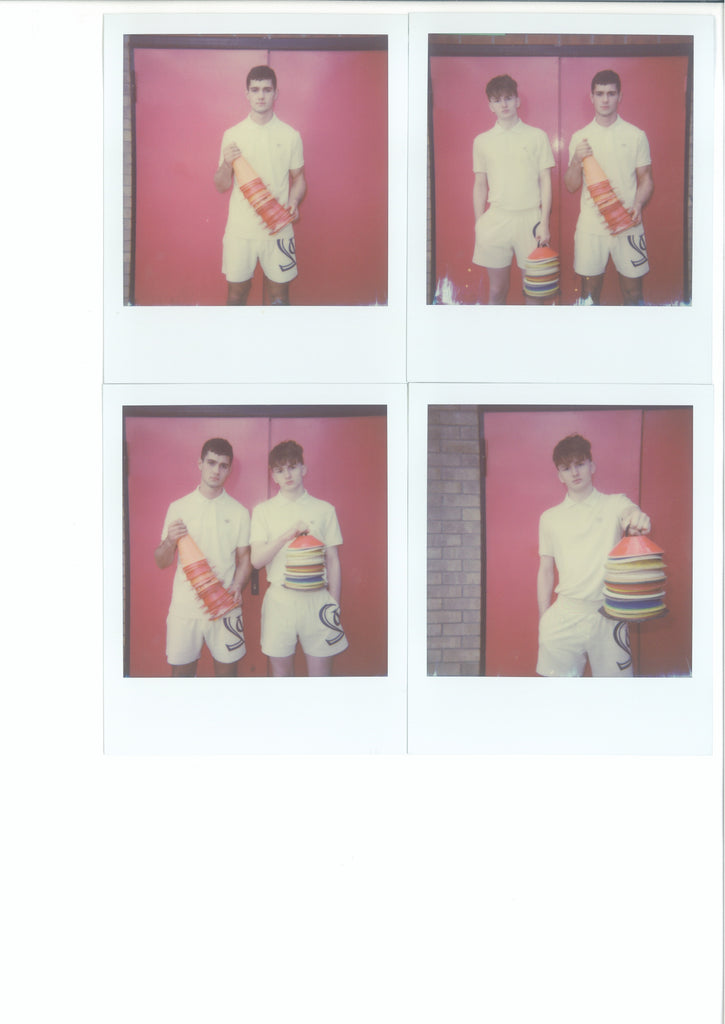 JOSS & HARRY - 320mm × 400mm - Framed 4 x Original Polaroids