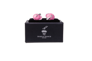 Enamelled Silver Cufflinks