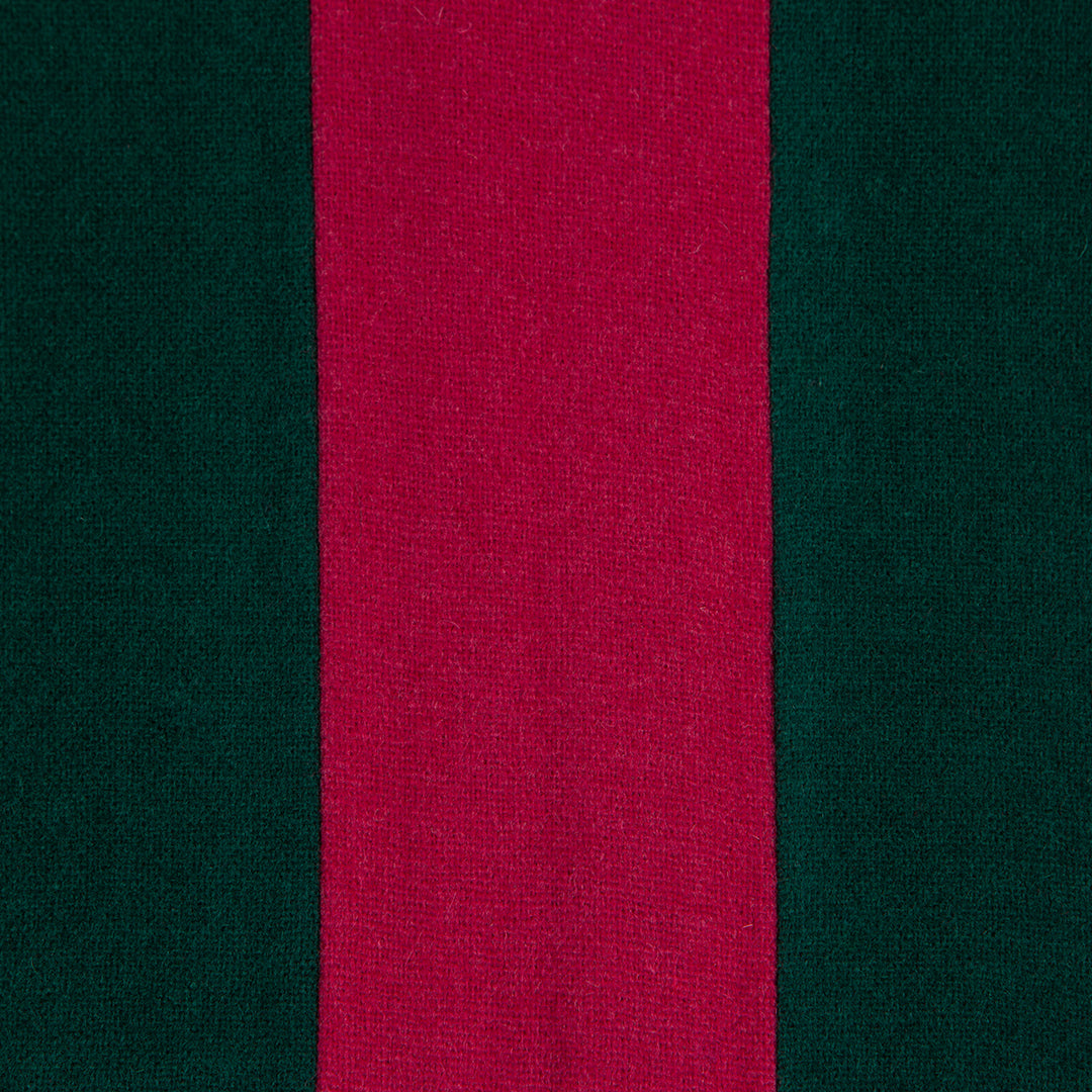 Green & Magenta College Scarf