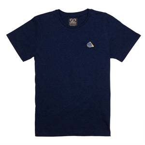 Mini Cap Applique Organic Cotton Tee