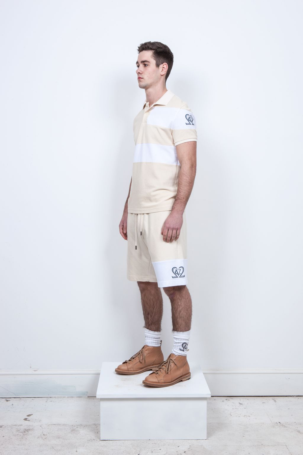 Haddon Fine Loopback Cotton Shorts