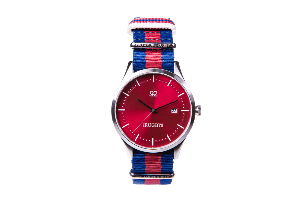 Adelaide Red Quartz Watch