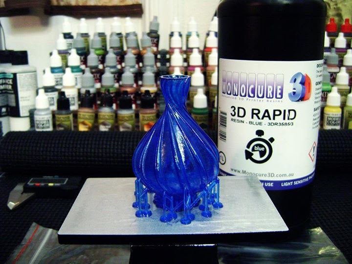 MONOCURE 3D RAPID bleu 500 ml