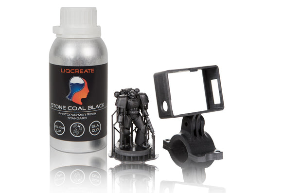 LIQCREATE Stone Coal Black 1L - wanhao france