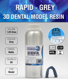 MONOCURE 3D RAPID DENTAL MODEL GRIS 1,25L