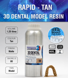 MONOCURE 3D RAPID DENTAL MODEL TAN (BRUN) 1,25L