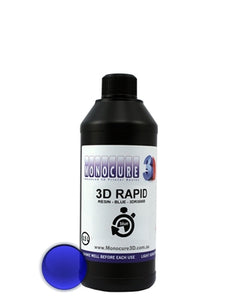 MONOCURE 3D RAPID bleu 500 ml - wanhao france