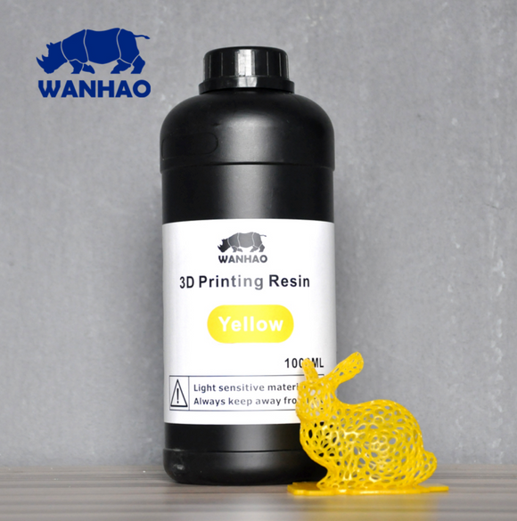 WANHAO JAUNE 500ml / 1L - wanhao france