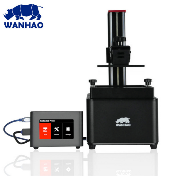 Wanhao Duplicator 7 v1.5 UV 405Nm ULTRA HAUTE RESOLUTION + D7box - wanhao3D