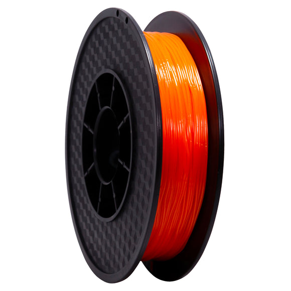 TPU flexible Orange 95A Premium Wanhao - 1.75mm, 0.5 Kg